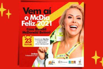 McDia Feliz: maior campanha de arrecadação do país, em prol de crianças e adolescentes com câncer é lançada no Pará